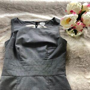 Classic, timeless grey work dress